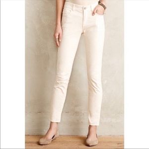 Pilcro & The Letterpress Cream Stet Ankle Pants 27
